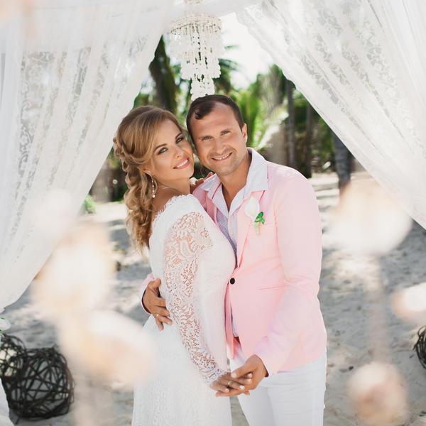Романтическая история любви Романа и Елены в Доминиканской Республике – WedDesign – Свадьба в Доминикане