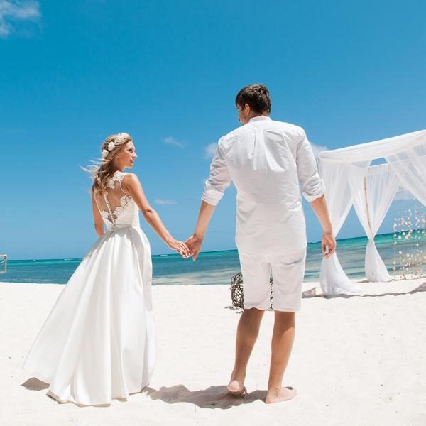 Счастливый свадебный день Ксюши и Саши в Доминикане – WedDesign – Свадьба в Доминикане