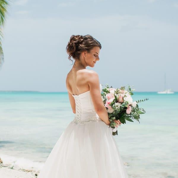 Классическая белая свадьба в Доминикане Ольги и Александра на острове Саона – WedDesign – Свадьба в Доминикане