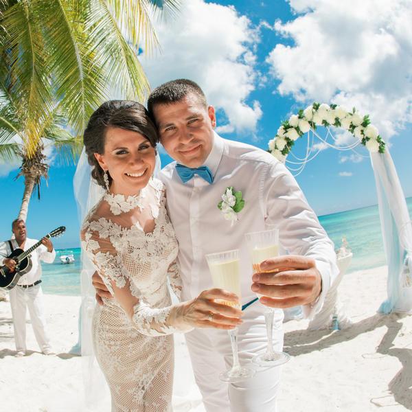 Морская свадьба на острове Саона Анны и Александра в Доминиканской Республике – WedDesign – Свадьба в Доминикане