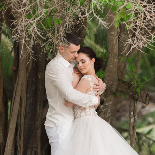 Свадьба на острове Саона в бирюзовом цвете Маши и Дениса – WedDesign – Свадьба в Доминикане