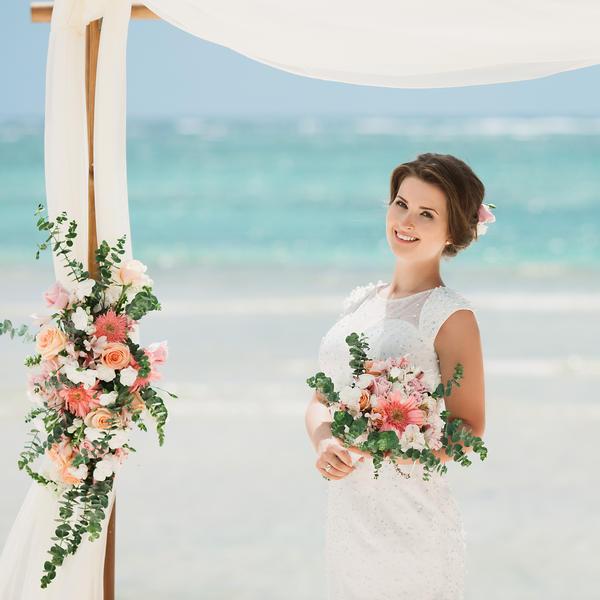 Свадьба в стиле рустик Ангелины и Ивана на пляже Cabeza de Toro в Доминикане – WedDesign – Свадьба в Доминикане
