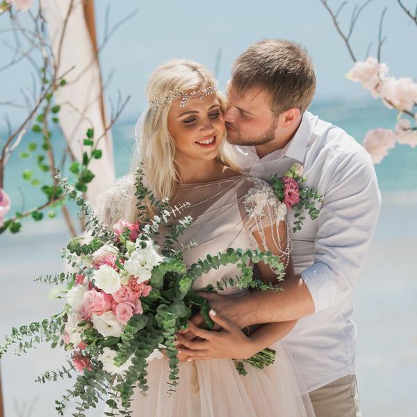Свадебная церемония Оксаны и Максима в ЭКО стиле в Доминикане – WedDesign – Свадьба в Доминикане