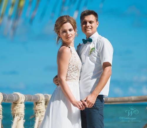 Виктория и Никита | WedDesign – Свадьба в Доминикане