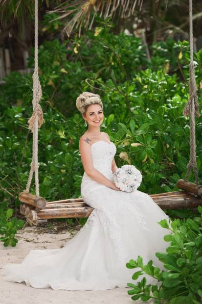 Как выбрать свадебное платье для пляжной церемонии   WedDesign – Свадьба в Доминикане