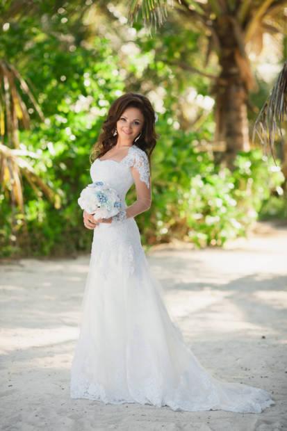 Как выбрать свадебное платье для пляжной церемонии | WedDesign – Свадьба в Доминикане