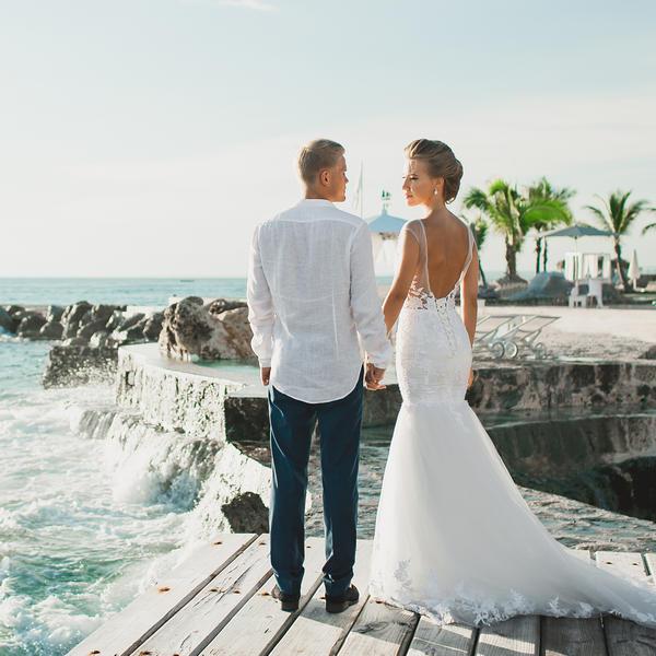 Шикарная свадьба в Доминикане Арнольда и Алисы в ресторане Тракадеро – WedDesign – Свадьба в Доминикане