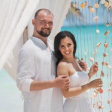 Сергей и Анастасия   WedDesign – Свадьба в Доминикане
