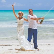 Алена и Егор | WedDesign – Свадьба в Доминикане