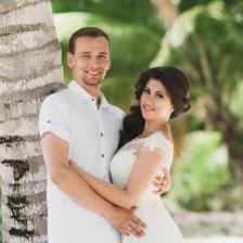 Денис и Юна   WedDesign – Свадьба в Доминикане