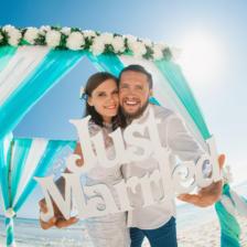 Егор и Наталья   WedDesign – Свадьба в Доминикане