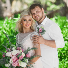 Оксана и Максим | WedDesign – Свадьба в Доминикане