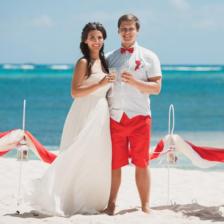 Виктория и Максим | WedDesign – Свадьба в Доминикане