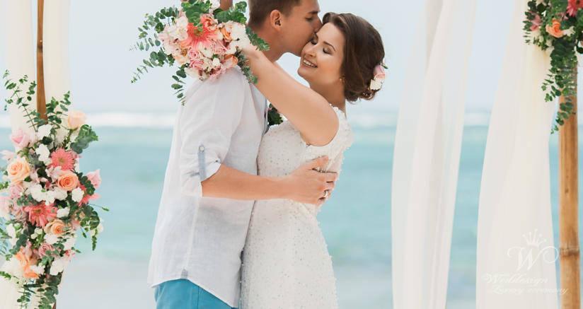 Ангелина и Иван | WedDesign – Свадьба в Доминикане