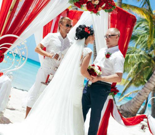 Екатерина и Алексей | WedDesign – Свадьба в Доминикане