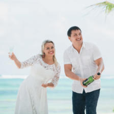 Екатерина и Алексей   WedDesign – Свадьба в Доминикане