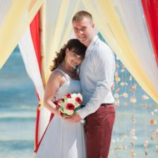 Евгения и Владимир   WedDesign – Свадьба в Доминикане