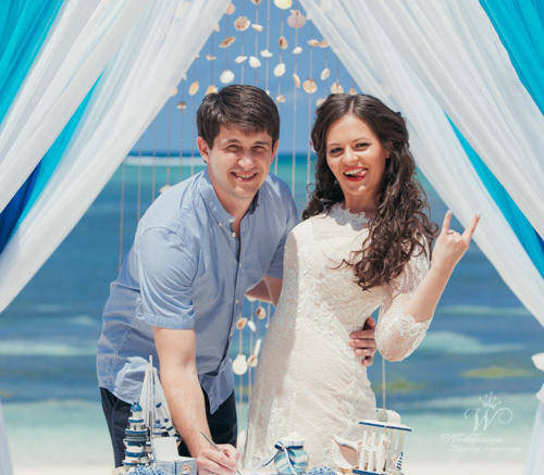 Ирина и Андрей | WedDesign – Свадьба в Доминикане