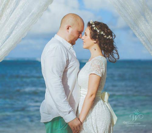 Марина и Роман | WedDesign – Свадьба в Доминикане