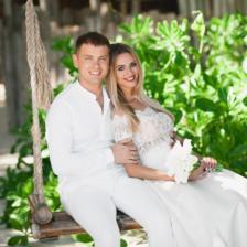 Марина и Александр   WedDesign – Свадьба в Доминикане