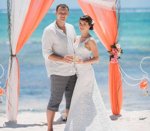 Наталья и Антон | WedDesign – Свадьба в Доминикане