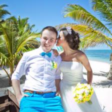 Олеся и Вадим | WedDesign – Свадьба в Доминикане