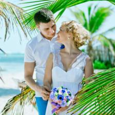 Рафаэль и Татьяна | WedDesign – Свадьба в Доминикане