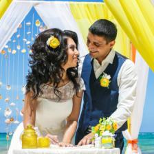 Валентина и Карен | WedDesign – Свадьба в Доминикане