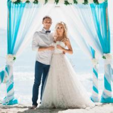 Виктория и Илья | WedDesign – Свадьба в Доминикане