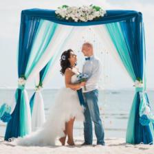 Яна и Александр   WedDesign – Свадьба в Доминикане