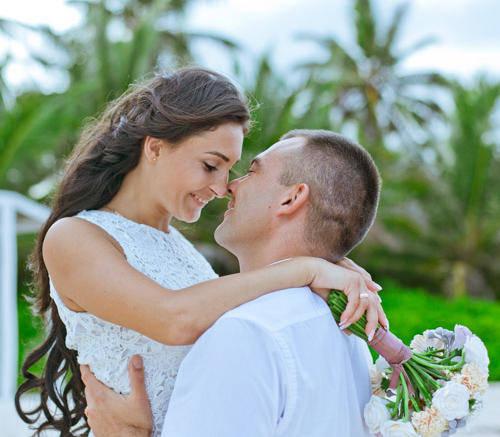 Яна и Станислав | WedDesign – Свадьба в Доминикане