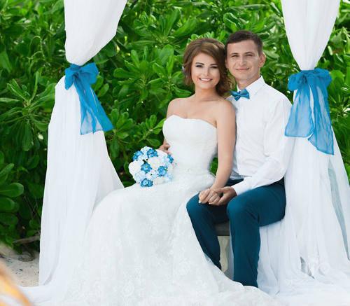 Яна и Владислав | WedDesign – Свадьба в Доминикане