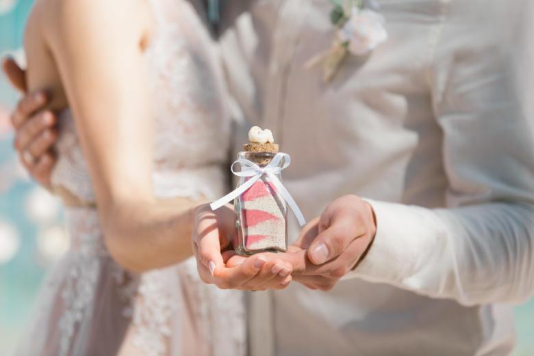 Нежная свадьба Оксаны и Майкла на приватном пляже – WedDesign | Свадьба в Доминикане