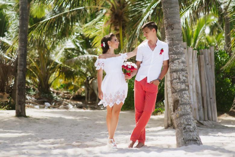 Букет «Красные пионы» и аксессуары – WedDesign | Свадьба в Доминикане