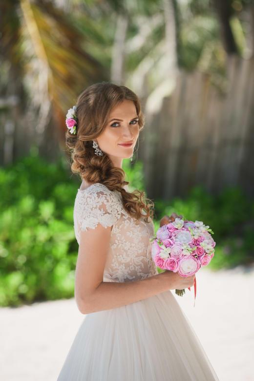 Букет «Зефирка» – WedDesign | Свадьба в Доминикане