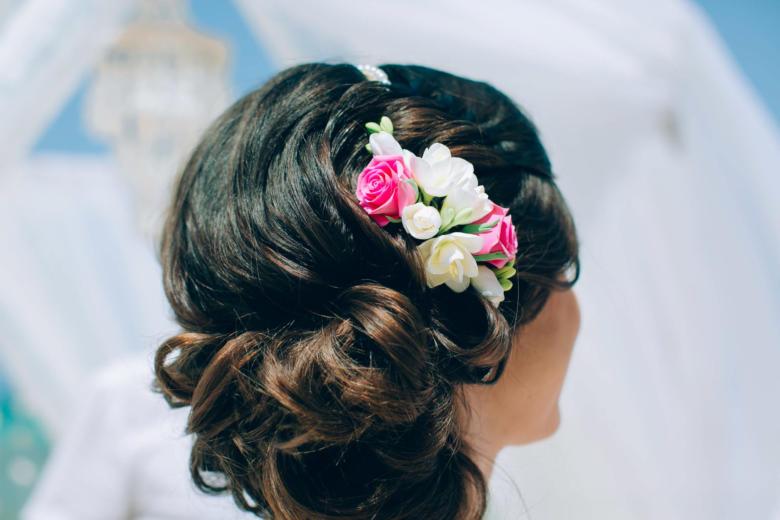 Украшение в волосы для букета «Зефирка» – WedDesign | Свадьба в Доминикане