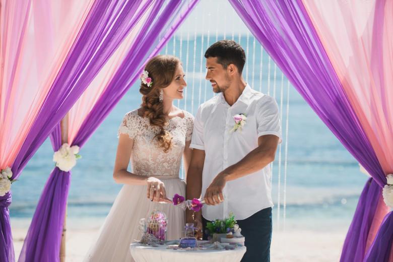 Украшение в волосы к букету «Зефирка» – WedDesign | Свадьба в Доминикане