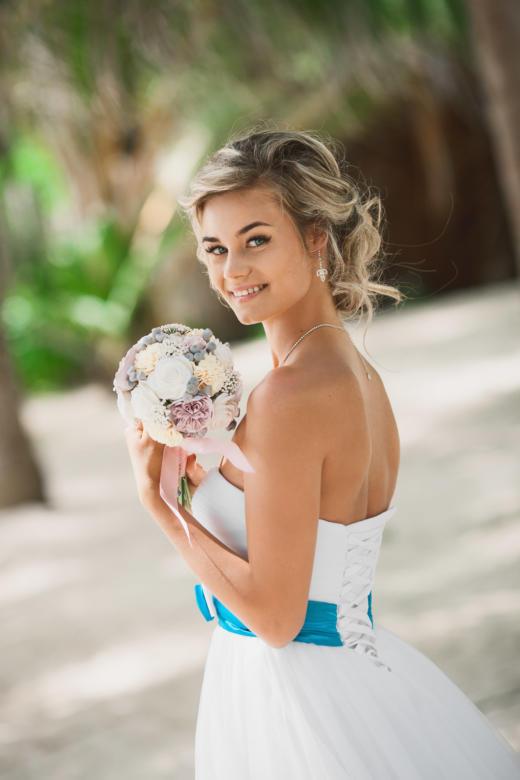 Букет «Пудровый» – WedDesign | Свадьба в Доминикане