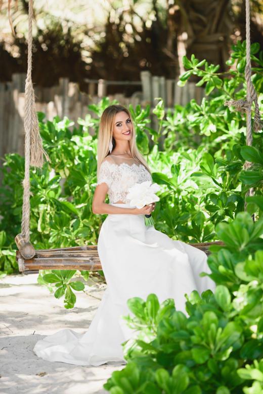 Букет «Белые каллы» – WedDesign | Свадьба в Доминикане