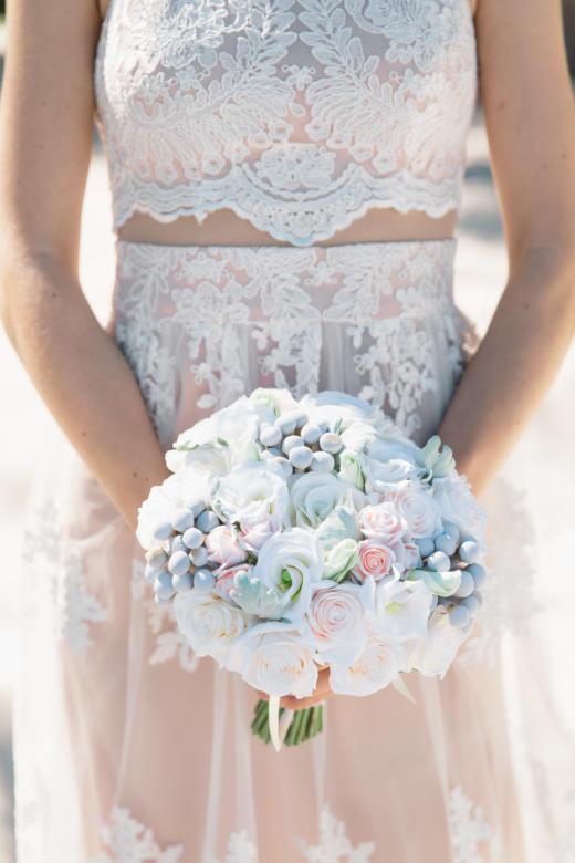 Букет «Нежный» – WedDesign | Свадьба в Доминикане