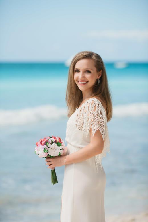 Букет «Тропический» – WedDesign | Свадьба в Доминикане