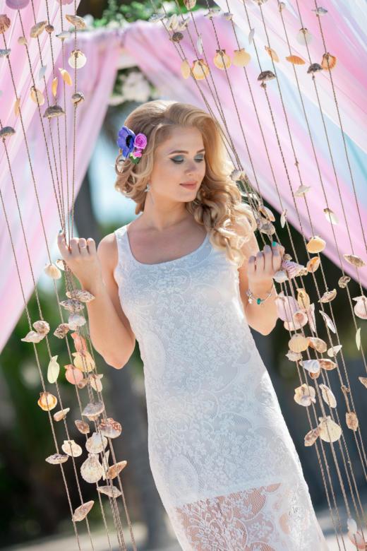 Украшение в волосы к букету «Яркий» – WedDesign | Свадьба в Доминикане