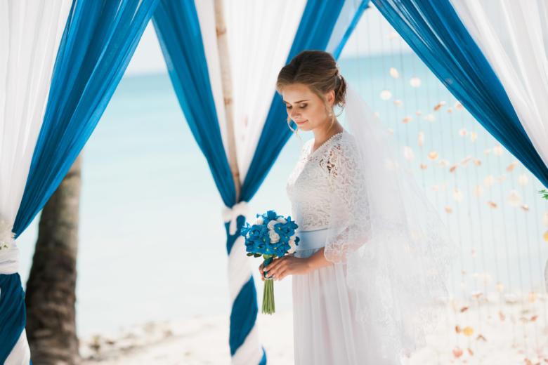 Букет «Ирисы» – WedDesign | Свадьба в Доминикане
