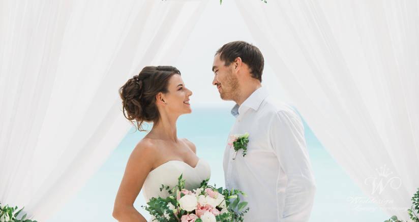 Ольга и Александр   WedDesign – Свадьба в Доминикане