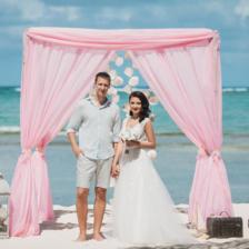 Михаил и Валерия | WedDesign – Свадьба в Доминикане