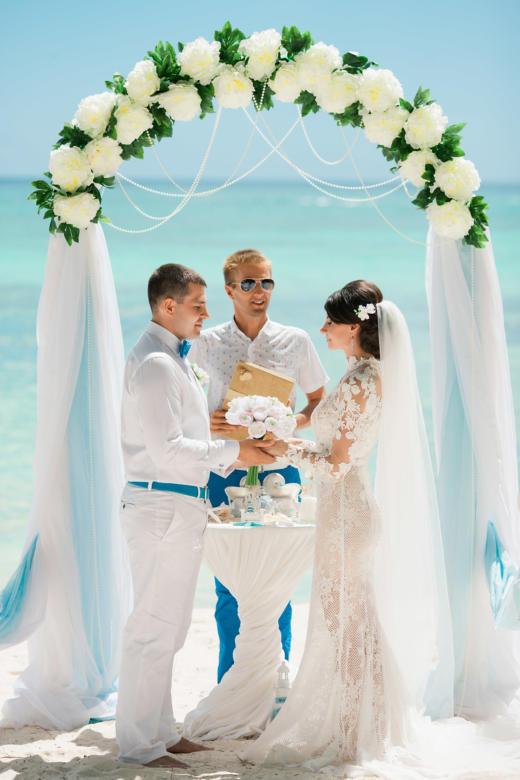 Морская свадьба на острове Саона Анны и Александра в Доминиканской Республике – WedDesign | Свадьба в Доминикане