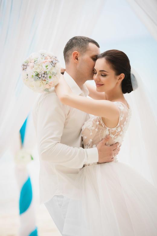Свадьба на острове Саона в бирюзовом цвете Маши и Дениса – WedDesign | Свадьба в Доминикане