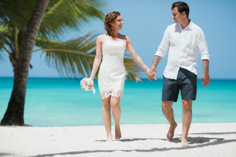 Свадебная церемония в стиле рустик на острове Саона Кристины и Геннадия – WedDesign | Свадьба в Доминикане