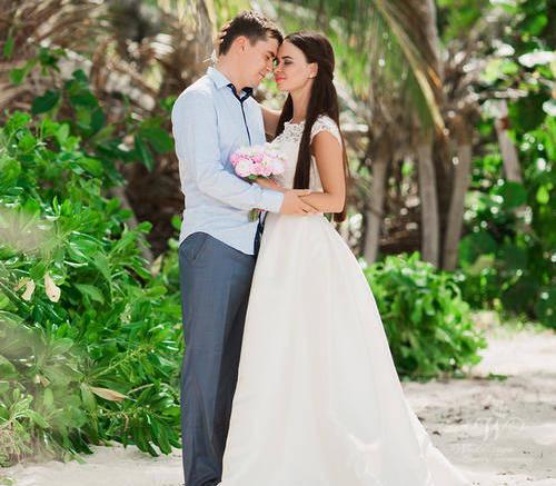 Анна и Павел   WedDesign – Свадьба в Доминикане