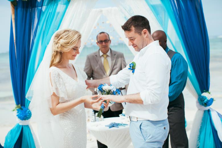 Официальная свадьба в Доминикане Стивена и Авелины | WedDesign – Свадьба в Доминикане